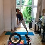 How Covid and Zoom transformed yoga for students and teachers